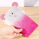 Case Huawei Mate 8 พลาสติกกากเพชรสุดสวยน่ารัก พร้อมหู 3 มิติ ราคาถูก