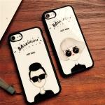 Case iPhone 7 (4.7 นิ้ว) พลาสติกลายผู้หญิงผู้ชายสุดแนว ราคาถูก (ไม่รวมสายคล้อง)