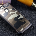 Case Huawei P9 Lite เคสกันกระแทกแยกประกอบ 2 ชิ้น ด้านในเป็นซิลิโคนสีดำ ด้านนอกพลาสติกลายทหาร ลายพราง สวย แกร่ง ถึก ราคาถูก