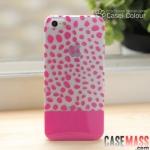 case iphone 5 เคสไอโฟน5 เคสใสลายเสือดาวสีหวานๆ สวยๆ transparent leopard protective shell