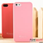 case iphone 5 เคสไอโฟน5 เคสซิลิโคน สีหวานใส่แล้วสวยน่ารักมากๆ colorful candy silicone TPU Korea Happymori