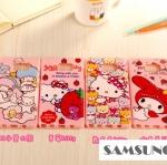 Case Samsung Galaxy Note 5 ซิลิโคนแบบทึบสีชมพูสกรีนลายการ์ตูนน่ารักมากๆ ราคาถูก -B-