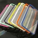 case iphone 5 เคสไอโฟน5 เคสโปร่งแสงผิวด้านแบบผิวน้ำแข็ง ตัดขอบหลากสี สวยๆ แนวๆ Colorful transparent frosted iPhone5