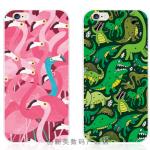 Case iPhone SE / 5s / 5 พลาสติก TPU นกฟามิงโกและไดโนเสาร์ น่ารักๆ ราคาถูก