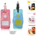 เคส iphone 5 Dream Princess เคสมีกระเป๋าใส่ของน่ารักสุดๆ เคสมือถือราคาถูกขายปลีกขายส่ง
