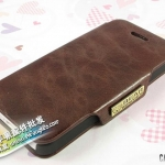 case iphone 5 เคสไอโฟน5 เคสหนังนิ่มฝาพับติดด้านข้างตั้งได้ เรียบสวย Bear Case Apple iPhone5 holster