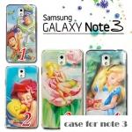 เคส note 3 Case Samsung Galaxy note 3 พลาสติก Disney Princess ทิงเกอร์เบล เมอร์เมด ราคาส่ง ขายถูกสุดๆ