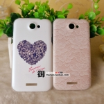 เคส Htc One X ลายการ์ตูนหัวใจน่ารัก HTC ONE X phone shell mobile phone sets onex lace love G23 Case Protective Case