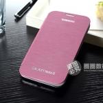 เคส Note 2 Case Samsung Galaxy Note 2 II N7100 เคสหนัง PU คุณภาพสูง ฝาหลังตัวเครื่องถอดของจริงเก็บไว้ใส่ของเคสนี้แทนของเก่าได้เลย มีฝาพับข้าง บางเฉียบ เรียบๆ สวยๆ The Samsung N7100 cell phone leather the note2 holster slim design