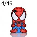 เคส iphone 4 เคสไอโฟน4s เคสซิลิโคน 3D สไปเดอร์แมน เท่ๆ น่ารักๆ Spider man silicone 3D