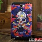 เคส Note 2 Case Samsung Galaxy Note 2 II N7100 เคสลายหัวกะโหลกไขว์ อาร์ตๆ แนวๆ สวยๆ Tide brand skull MasterMine Japan
