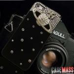 case iphone 5 เคสไอโฟน5 เคสประดับเพชรรูปดาวเสาร์สวยๆ