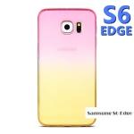 เคส samsung galaxy s6 edge ซิลิโคน TPU ไล่เฉดสีสวยมาก ราคาส่ง ราคาถูก