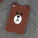เคส iPad mini 3/2/1 ซิลิโคน TPU ตัวหมีบราวน์ น่ารักมากๆ ราคาถูก