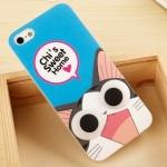 เคสไอโฟน5s / 5 Korea lovely big eyes ตัวการ์ตูน ฮิตๆ ดังๆ มาทำตาโต แบ๊วๆ น่ารักๆ ซิลิโคน 3D Paul Frank Panda Doraemon Chopper เหมียวจี้ Chi ราคาส่ง ขายถูกสุดๆ