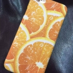 เคสไอโฟน6 4.7 นิ้ว พลาสติกลายผลส้มดูแล้วสดชื่นมากๆ ราคาถูก