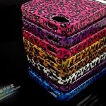 case iphone 5 เคสไอโฟน5 เคสซิลิโคน TPU ลายเสือดาวคาดโบว์ มีประกายวิ๊บวั๊บ สวยๆ The leopard the glitter iPhone5 TPU Case