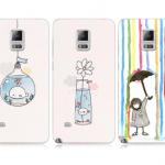 เคส Samsung Galaxy Note 4 ซิลิโคน soft case สกรีนลายสีพาสเทลน่ารักมากๆ ราคาถูก