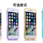 Case iPhone 7 (4.7 นิ้ว) ซิลิโคน TPU soft case แบบฝาพับโปร่งใสสีต่างๆ สวยงามมากๆ ราคาถูก