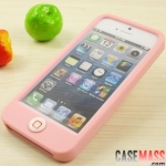 case iphone 5 เคสไอโฟน5 เคสซิลิโคน นุ่มๆสีหวานมีปุ่มกดใหญ่ SwitchEasy Colors Apple iPhone5