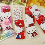 case iphone 5 เคสไอโฟน5 ลายคิตตี้ Hello kitty Sanrio น่ารักมาก มีหลายแบบหลายสี