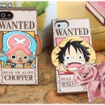 case iphone 5 เคสไอโฟน5 One Piece Wanted ซิลิโคน 3D เท่ๆ