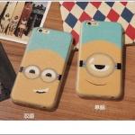 เคส iPhone SE / 5s / 5 พลาสติกสกรีนลายมิเนี่ยนสุดแสบ ราคาส่ง ขายถูกสุดๆ