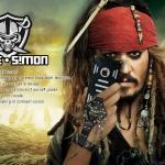 case iphone 5 เคสไอโฟน5 เคสโลหะเหล็กสุดแกร่ง ตัวเคสทำจากอลูมีเนียมอัลลอย แนวโจรสลัด Pirates of the Caribbean แยกประกอบโดยการประกบ 2 ชิ้น มีช่องโชว์โลโก้ด้านหลัง ภายในมีแผ่นจุกซิลิโคนให้แปะภายในกันระหว่างตัวเครื่องกับเคส สวยมากๆ high-quality aluminum alloy