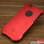 case iphone 5 เคสไอโฟน5 เคสโลหะประกอบ 2 ชิ้นแบบสวมผิวไม่เรียบป้องกันรอยและกันลื่น ปั๊มลึกเลข 5 มีช่องโชว์โลโก้ด้านหลัง บุกำมะหยี่ตรงมุมด้านใน ไม่กักสัญญาณ ดีไซน์ได้สวยสุดๆ iphone5 metal TOP design Dark Knight M2 BLADE2