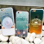 เคส iPhone 6s / iPhone 6 (4.7 นิ้ว) พลาสติกผิวกันลื่นสกรีนลาย summer น่ารักมากๆ ราคาถูก