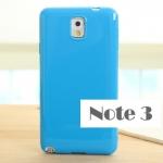 เคส note 3 Case Samsung Galaxy note 3 เคสซิลิโคน TPU สีพื้น เป็นเงาวั๊บ สวยๆ ราคาส่ง ขายถูกสุดๆ