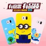 เคส Samsung Galaxy s6edge ซิลิโคน TPU 3 มิติ การ์ตูนหลากหลายแบบน่ารักๆ ราคาถูก -B-