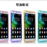 case huawei g play mini (alek 3g plus) ซิลิโคน TPU soft case แบบฝาพับโปร่งใสสีต่างๆ สวยงามมากๆ ราคาถูก
