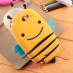เคส Samsung Note 2 เคสซิลิโคน 3D ผึ้งน้อยตัวอ้วนๆ ป่องๆ น่ารักสุดๆ South Korea's silicone cute little bee casing