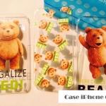 เคส iphone 6 (4.7) พลาสติกโปร่งใสสกรีนลายเทดดี้แบร์ หมีสุดกวน ราคาส่ง ราคาถูก