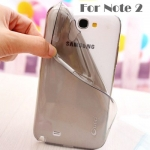 Case Samsung Galaxy Note 2 ซิลิโคน UFO บางเฉียบ ดูดีมาก โชว์ความสวยของตัวเครื่องได้เต็มที่ เคสมือถือ ขายส่ง ราคาถูก