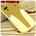 case iphone 4/4s เคสไอโฟน4/4s เคสซิลิโคน 3D ช้างงวงยาวๆ กางงวงออกมาเป็นขาตั้งได้ แนวๆ