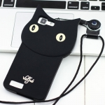 เคส VIVO X5 ซิลิโคน TPU 3 มิติ แมวน้อยแสนน่ารัก น่าใช้ ราคาถูก (ไม่รวมสายคล้องคอ)
