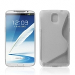 เคสซัมซุงโน๊ต3 Case Samsung Galaxy note 3 เคสซิลิโคน Tpu ใสมีลายรูปตัวเอส เรียบๆ สวยๆ เคสมือถือราคาถูกขายปลีกขายส่ง