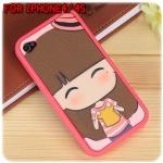 case iphone 4/4s ลายการ์ตูนน่ารัก เคสไอโฟน4/4s