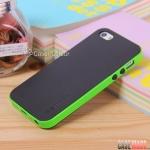 case iphone 5 เคสไอโฟน5 เคส2ชั้น ด้านในเป็นซิลิโคนนิ่มๆ ด้านนอกตัดขอบสีสวย เคสมือถือราคาถูกขายปลีกขายส่ง