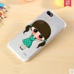 Case Huawei g play mini (alek 3g plus) ซิลิโคน TPU โปร่งใสสกรีนลายเด็กผู้หญิงน้อยน่ารักมากๆ ราคาส่ง ราคาปลีก ราคาถูก