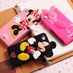 case iphone 4/4s เคสไอโฟน4/4s เคสซิลิโคน 3D Disney Minnie & Mickey Mouse Winnie The Pooh Piglet น่ารักๆ