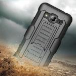 เคส Samsung Galaxy J3 กันกระแทก แนวลุยๆ ดุๆ เท่ๆ ถึกๆ อึดๆ แนวทหาร เดินป่า ผจญภัย adventure เคสแยกประกอบ 3 ชิ้น ชั้นในเป็นยางซิลิโคนกันกระแทก ครอบด้วยแผ่นพลาสติกอีก1 ชั้น กาง-หุบขาตั้งได้ มีปลอกฝาหน้าแบบสวมสไลด์ ใช้หนีบเข็มขัดเพื่อพกพาได้