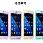 case huawei honor 6 plus ซิลิโคน TPU soft case แบบฝาพับโปร่งใสสีต่างๆ สวยงามมากๆ ราคาถูก
