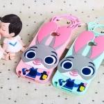 เคส Samsung Galaxy Note 2 ซิลิโคน 3 มิติ กระต่ายจูดี้ น่ารักมากๆ ราคาถูก (ไม่รวมสายคล้อง)