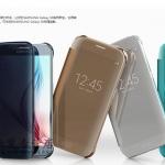 Case Samsung Galaxy Note 5 แบบฝาพับโปร่งใสสีพาสเทลลูกกวาดมากๆ น่ารักสุดๆ ราคาถูก