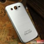 Case Samsung Galaxy Grand Duos ฝาหลังพลาสติกลายเส้นโลหะผิวกันรอยนิ้วมือ ด้านๆ สวยๆ บางๆ ตัดขอบดำ ใช้แทนฝาหลังเอาเก่าได้เลยโดยใช้ฝาหลังตัวนี้แทน