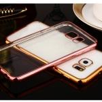 Case Samsung S6 ซิลิโคน TPU โปร่งใสขอบเงางาม ราคาถูก
