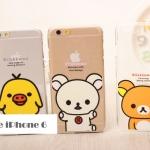 เคส iphone 6 ขนาดจอ 4.7 นิ้ว พลาสติกโปร่งใสลายริลัคคุมะสุดน่ารัก ราคาถูก -B-
